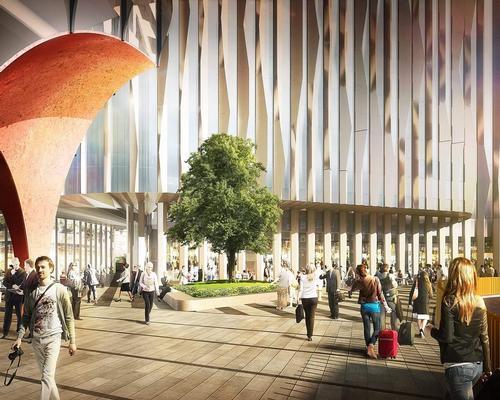 Metalline transforms London hotel with bespoke aluminium fins
