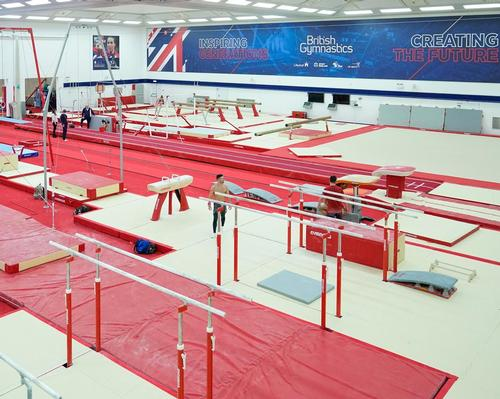 New £1m artistic training facility opens at 'Home of gymnastics'