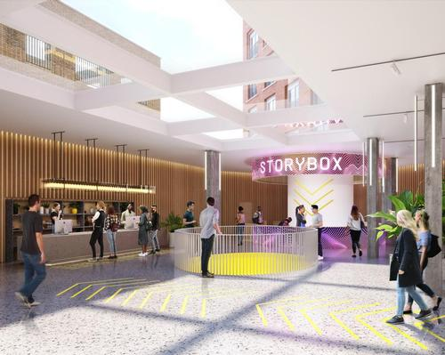 Storybox will provide 58,000sq ft (5,400sq m) of flexible mixed-use space / Our Studio