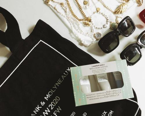 Comfort Zone supplied its Tranquility and Wellness Voyage kits for the audience gift bags
